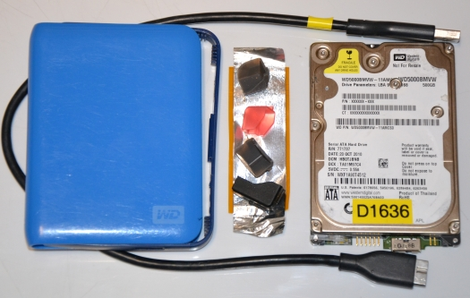WD external data recovery